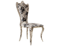 Antique reproduction french fabric dining chair Y864