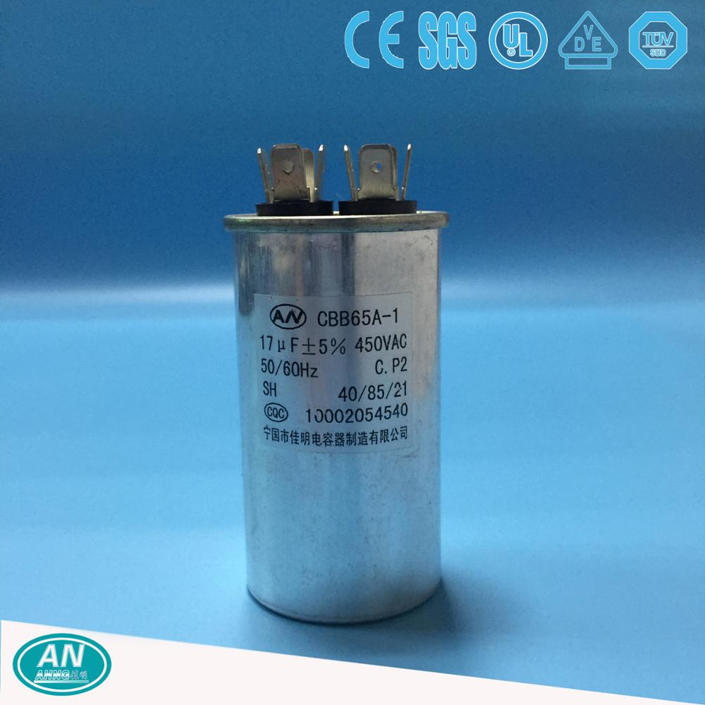 CBB65 17uf air condition capacitor