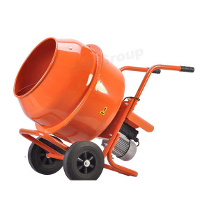 200L Small movable electric mortar mixer cement soil mixer