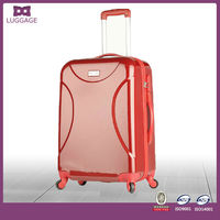 ABS+PC shell carry-on trolley us polo luggage