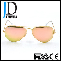 Street Fashion Metal Frame UV400 Polarized Lenses Women Sunglasses 2017