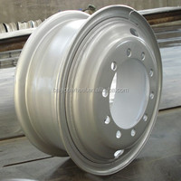 8.5-24 TRUCK wheel EGYPT truck wheel 2wind hole /10wind hole 335mmpCD 12.00-24Tire 384PCS/40HQ