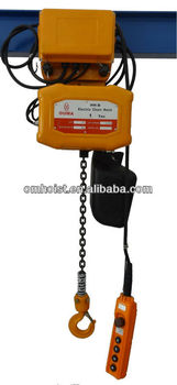 Electric chain hoist with trolley/electric chain hoist1t-5t