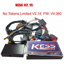KESS V2 V2.15 2015 Newest OBD2 Manager Tuning Kit NoToken Limit Kess V2.15 Master FW V4.036 Master version ecu chip tuning tool