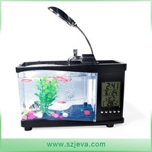 China Supplier Different Colors Open Style Glass Aquarium Fish