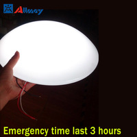 Rechargeable Ceiling mounted led ceiling lamp with battery kit switch on-off