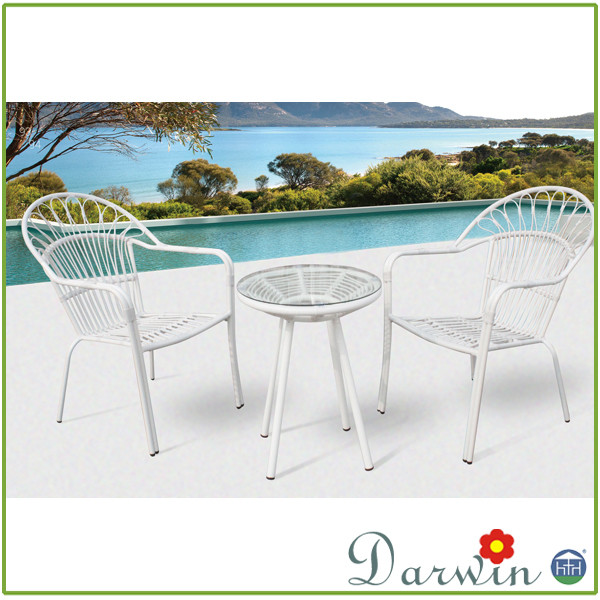 white cheap rattan wicker indoor chairs