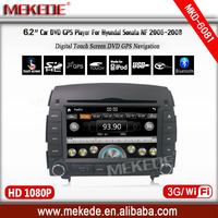 car Audio player for hyundai sonata 2006 2007 2008 support Multilingual