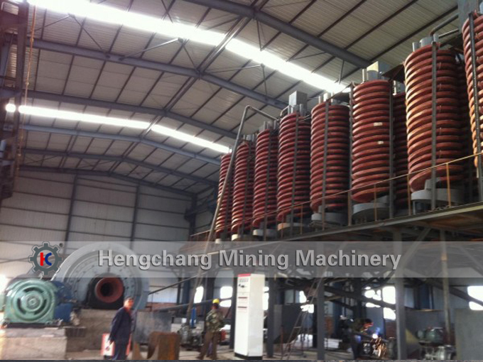 Jiangxi Hengchang Spiral Separator Concentrating Machine for beach sand iron recovery