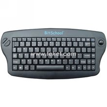 IR Wireless Keyboard with Trackball K3,Ergonomic Design,Slim Wireless keyboard