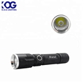 Rechargeable Flashlight LED torch light with usb charge Emergency Usage light
