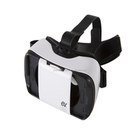 Quality stable vr case, 3d vr glasses, cardboard vr for iphone 6s plus and android mobile phone