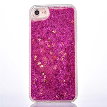 Hot Sales Factory Price Multi Color Customized Smart Liquid Glitter Water Phone Case for Iphone and Samsung Series