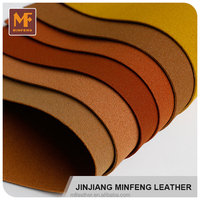 New popular design facotory hydrolysis resistance various fashion suede leather