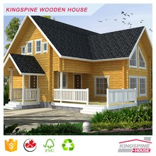 Luxury Villa Wooden House Prefabricated Log Cabin Made in China