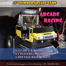 100% Original Version Simulator Hummer Racing Car Arcade Video Indoor Coin Operated Racing Car Amusement Game Machine