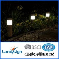 2015 New outdoor LED Solar Light powerful led solar security light garden pillar light