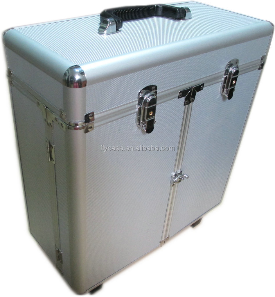 aluminum barber tool case,barber equipment tool box,hairdressing tool case with plate inside