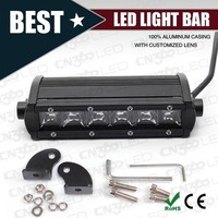 High performace off road led light bar, 30w 7inch 3D off road led light bar