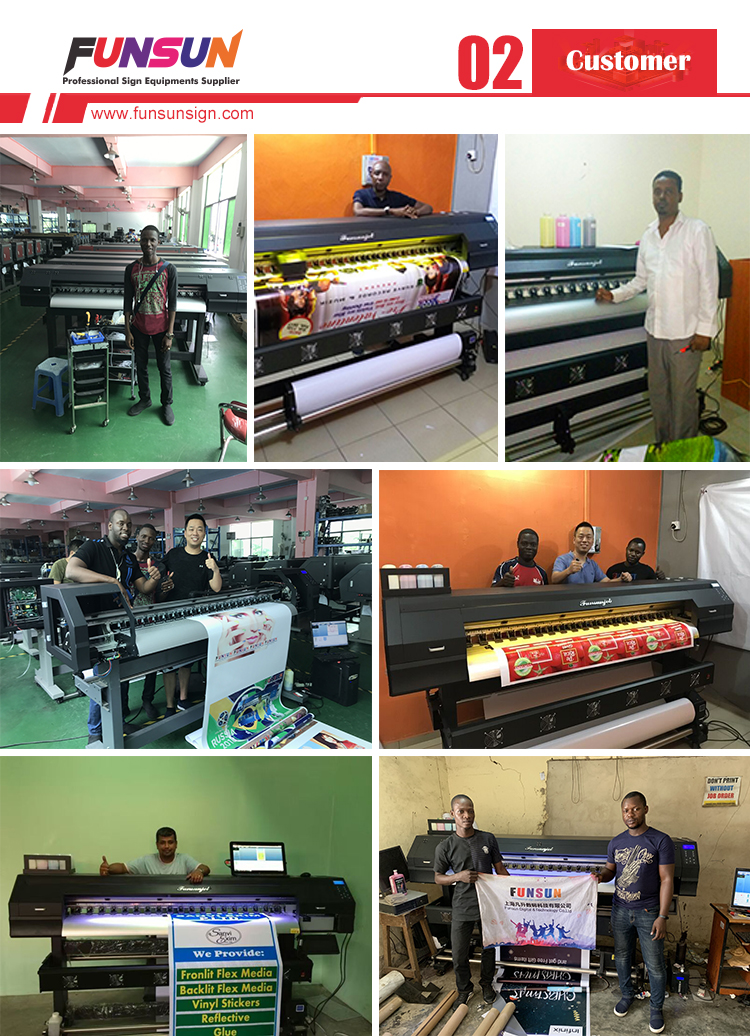 Flex banner digital plastic bag printing Printer