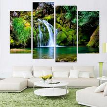 Wholesale low price tree natural scenery stretched landscape canvas prints