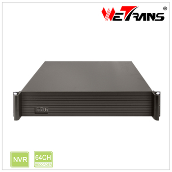 Wetrans 64CH 4K / 5MP / 3MP / 1080P / 960P / 720P 9HDD TN-2064N2 H.265 H.264 Real time Recording Onvif P2P 64CH H.265 NVR