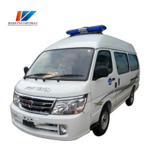 Best Selling 4*2 Transfer Diesel Ventilator Ambulance Car for sale