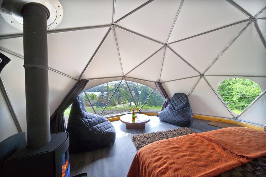 Jardin igloo transparent dôme tentes pour vente-Tente de ...