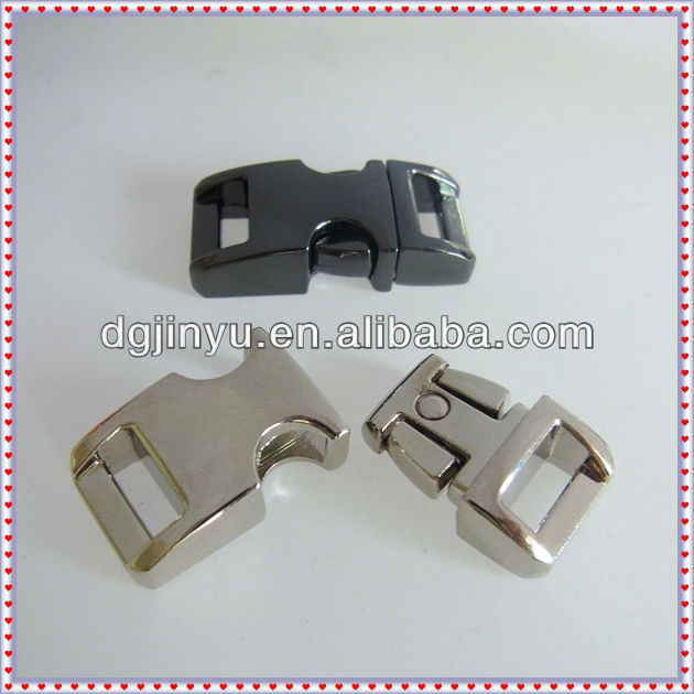 Colored Metal Side Release Buckle for Pet Collar
