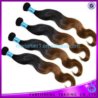 Top Grade 4a Ombre Curly Indian Hair Remy Tape Extensions