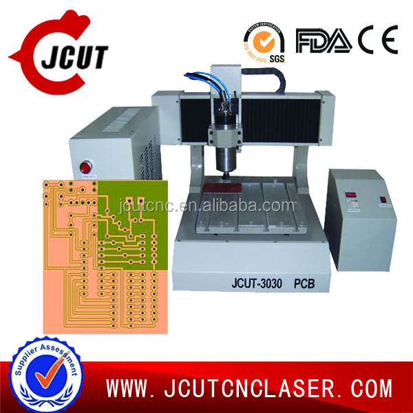 PCB cnc router milling and drilling machine JCUT-3030