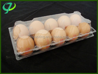 custom Blister Process Disposible plastic egg tray/Clear disposible egg tray plastic