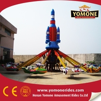 China Fairground amusement rides rotating self control plane for sale