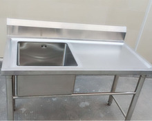 Chinese manufacturer professional custom free standing stainless steel kitchen sink
