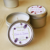 100% natural coconut wax 4oz candle tin jar with lid