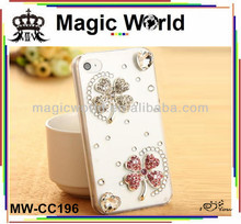 Lucky rhinestone mobile case