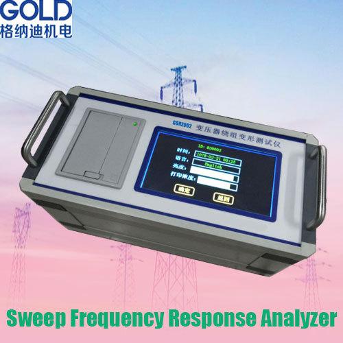 Frequency Response Analyzer : Gdrz transformer sweep frequency response analysis