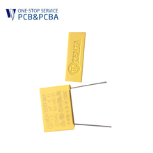 Electronic components Metallized Polypropylene Film A004 safety 350vac capacitor