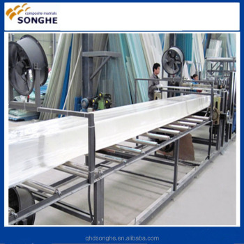 Roof/Rain Gutter FRP gutter machine/machinery machines of gutters by Songhe