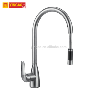Fashion design CUPC New Design brass pull out kitchen faucet