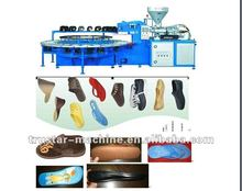full automatic PVC air blowing injection moulding machine (7124)