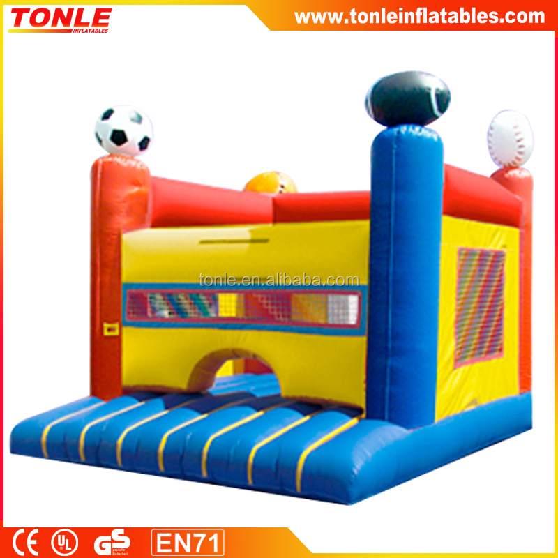 huge sports inflatable bounce house