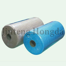 Soft and Comfortable Cross lapping 100% polyester spunlace nonwoven fabric for wipes tissue hydrophilic