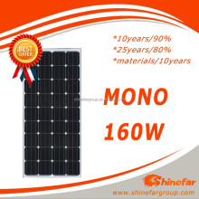 panels photovoltaic /photovoltaic solar panel 160W Home for photovoltaic systems