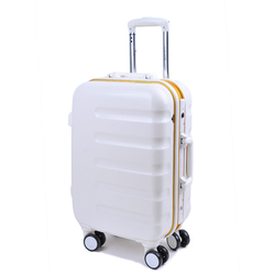 2016 wholesale ABS trolley bag best brand trolley bag 1 piece MOQ trolley bag for traveling
