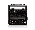 2018 Fashion Sunrise beauty case , Acrylic star cosmetic cases ,