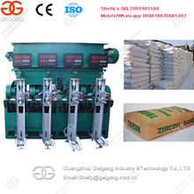 Full Automatic Four Mouths Cement Sand Bagging Equipment Silica Powder Packing Machine
