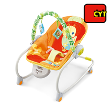 high quality vibrate music multifunction swing rocking chair baby in new design