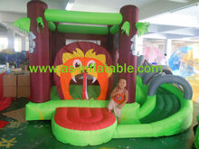Modern style&green bouncers inflatables for kids
