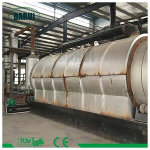 Wastes recycling tire pyrolysis machine of small capacity